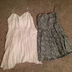 Grey dress on hold